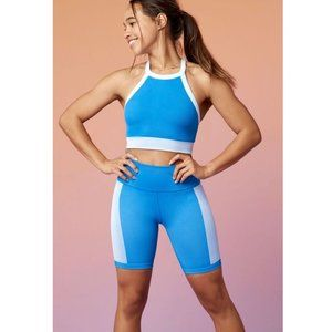Fabletics   High Waisted Seemless Ribbed Short